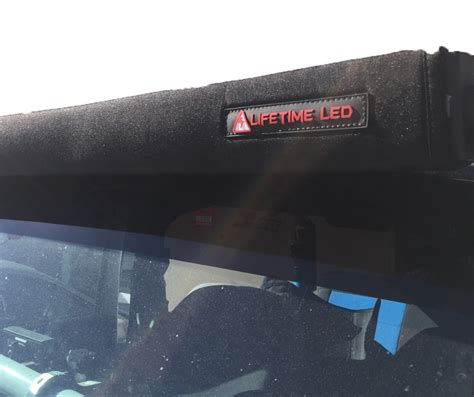 Led Light Bar Cover 50 Inch Stops The Whistle Noise Led Led Light Bar Covers