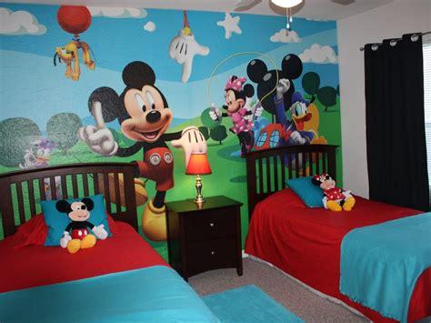mickey mouse bedrooms papel de parede infantil