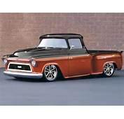 57 Chevy Truck Custom Front By Michael Warren Beautiful Orange