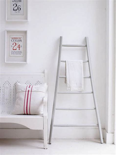 interior decorating  wooden ladders creative room