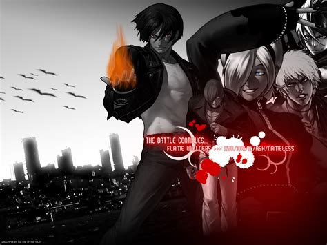 imagenes kof wallpaper the king of fighters flame wielders wallpaper and