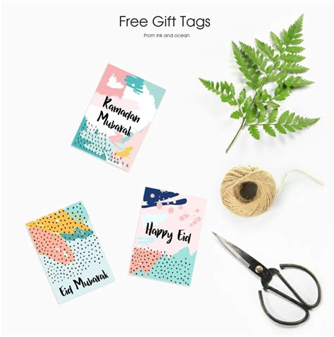 printable eid gift tags free ramadan and eid gift tag to download perfect for