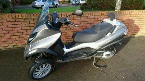 09 piaggio mp3 125cc scooter for sale in rathfarnham