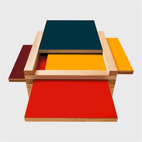 Table Top Color The Par 4 Coffee Table Design Trend Color Coffee Table