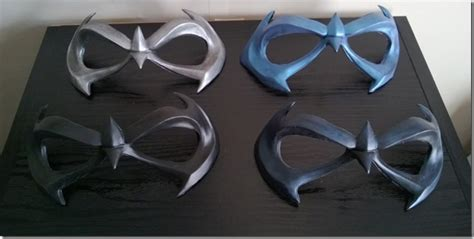 How To Make A Robin Mask Out Of Paper - robin nightwing mask sculpture photos now up