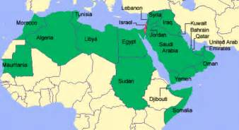 Arab World Map by Copy Muhammad Just Treatment Of Women Christians Jews