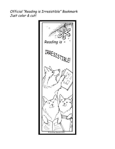 Printable December Bookmarks   kristine daniels studio december 2010