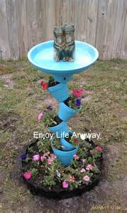 enjoy anyway diy bird bath