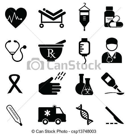 clip art de vectores de conjunto salud icono vector vector clip art de salud m 233 dico iconos salud cuidado