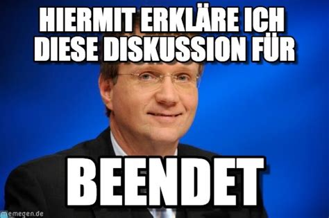 Meme Deutsch - pofalla diskussion beendet memes german pinterest memes