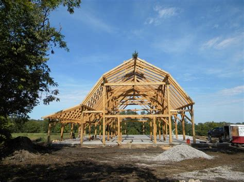Two Story Garage Plans midwest custom timber frames horse barn construction