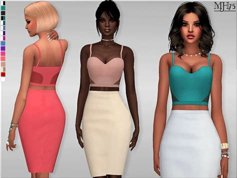 Sabhira Dress By Amima saphira by margeh75 at sims addictions 187 sims 4 updates