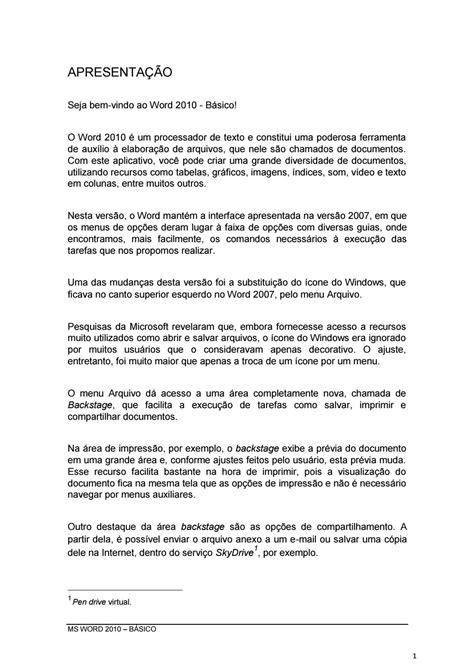 Word 2010 colegio by Wesley Nunes - Issuu