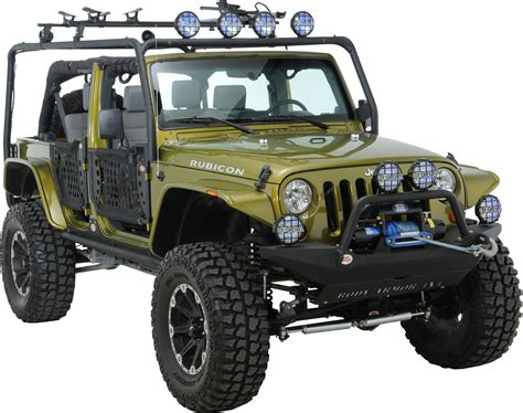 jeep body armor body armor jk 6125 4x4 roof rack base kit for 07 18 jeep