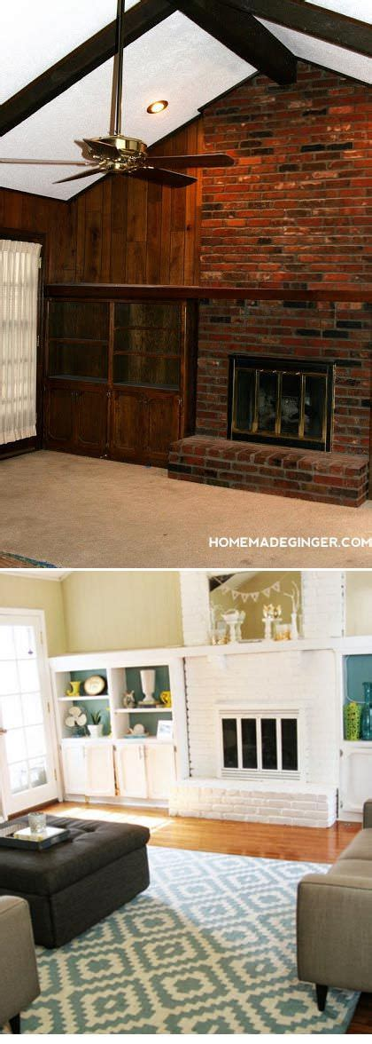 wood paneling makeover before and after paint transformations 5 amazing diy makeovers the