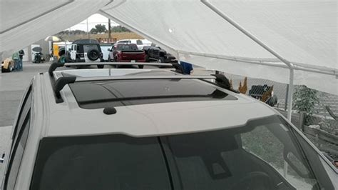 Rack Attack Rails by Ford F 150 4dr Cab Rack Installation Photos