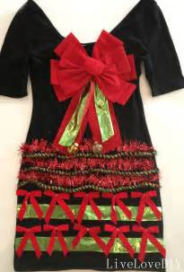 All I Got For Christmas Was This Ugly Sweater livelovediy how to make an ugly christmas sweater dress