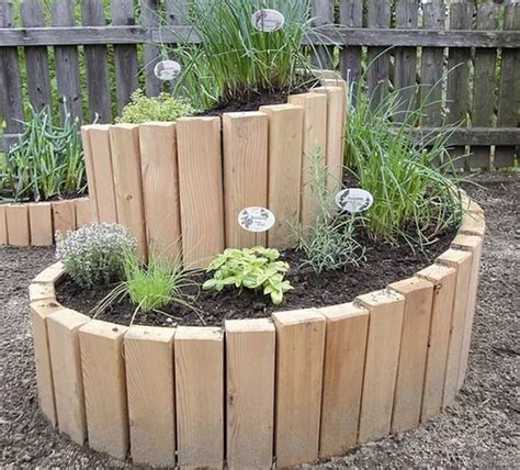 herb garden planter spiral herb garden is an easy diy to try the whoot