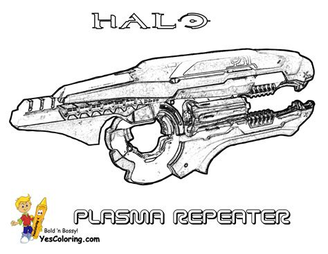 halo guns coloring pages free coloring pages of halo weapons list