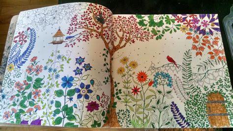 secret garden colouring book readings fj colorists unite free jinger