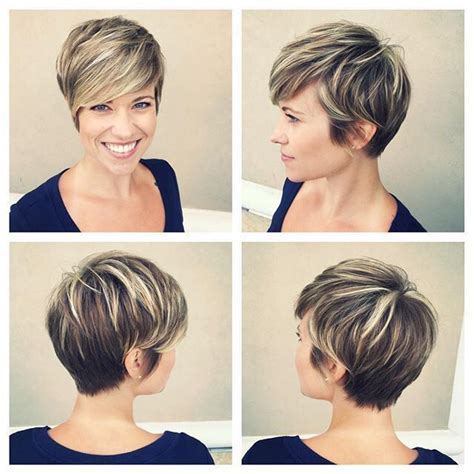 frosting your hair roots 25 best highlights for short hair ideas on pinterest