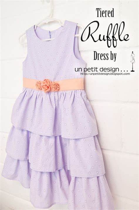 tutorial design dress quality sewing tutorials tiered ruffle dress tutorial by
