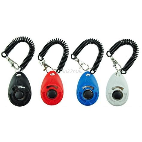 Clicker For Obedience 4pcs clicker click button trainer pet cat