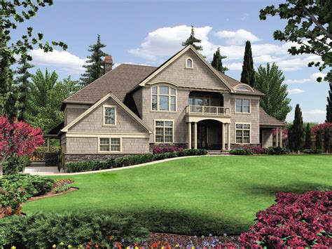 hillside home design 6980am architectural designs