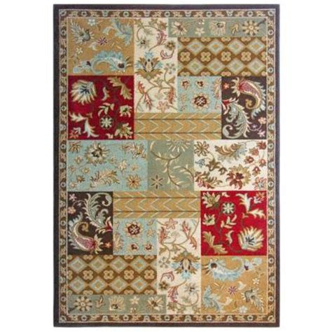 Patchwork Area Rugs - lanart patchwork 7 ft 8 in x 10 ft area rug