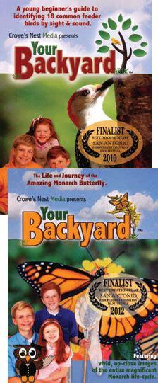 backyard science dvd your backyard dvds set of 2 sing nlearn homeschool
