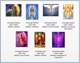 archangel colors february 2015 i speak spirit