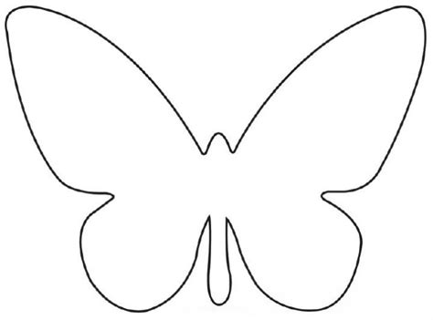 Paper Butterfly Template butterfly patterns printable template free