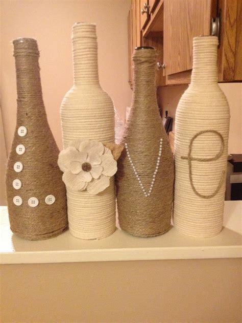 como decorar botellas en vidrio decoracion con botellas reciclar puede ser divertido