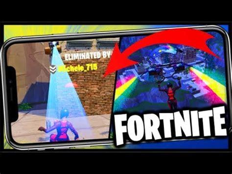 fortnite mobile trolled  hard fortnite battle