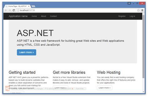 visual studio asp net tutorial for beginners a step by step asp net tutorial for beginners