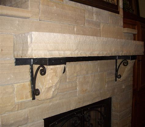 Mantle Brackets Fireplace Mantle Brackets Mclean Forge And Welding