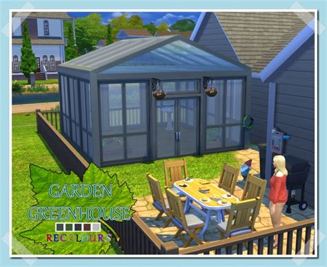 greenhouses deco at simlifecc 187 sims 4 updates