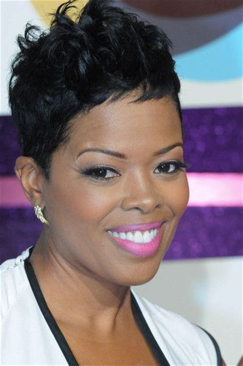 short hair styles worn by malinda williams malinda williams great hair and pictures on pinterest