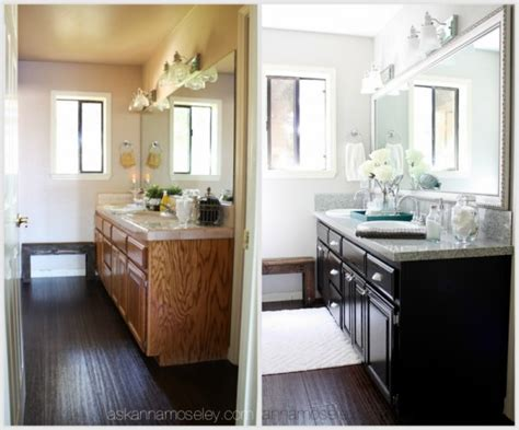Bathroom Makeover Pictures Before And After by Guest Bathroom Makeover From Pink To Fab Ask