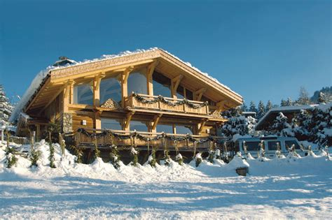 Leather Sofas Spain Great Ski Chalets In The Alps Winter Sports Holidays