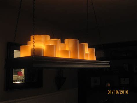 Pillar Candle Light Fixture Candle Chandelier Chandelier