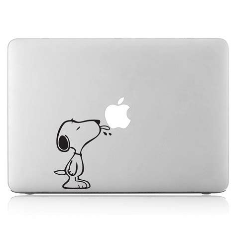 Decal And Sticker Macbook Apple snoopy macbook sticker kamos sticker