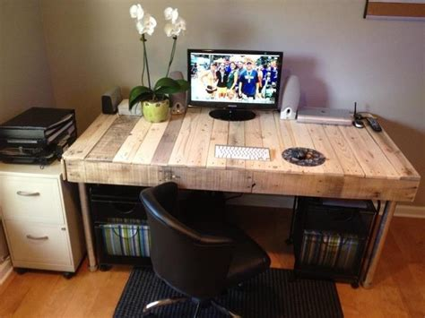 Office Desk Made From Pallets Office Desk Made From Pallets Diy Woodwork