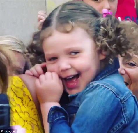 savannah guthrie this little piggy savannah guthrie s daughter vale gets camera shy during
