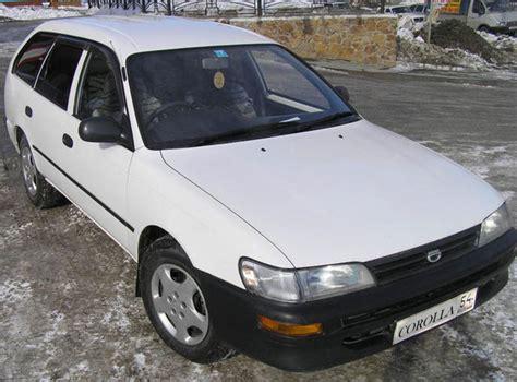 1996 Toyota Corolla 1996 Toyota Corolla Wagon Pictures For Sale