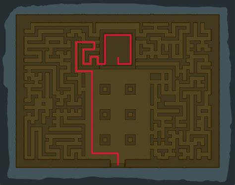 legend of zelda map maze tu ka loh shrine guide zelda dungeon