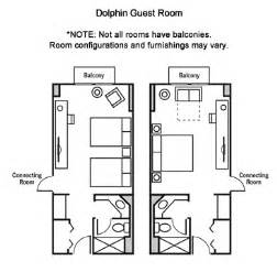 average guest bedroom size walt disney world swan dolphin resorts information