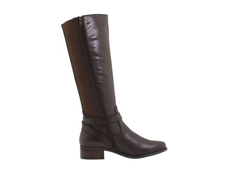 fitzwell boots fitzwell mentor wide calf boot shipped free at zappos