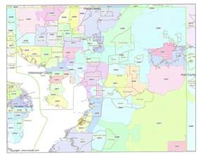 Tampa Fl Zip Code Map by Tampa Zip Code Map Map2
