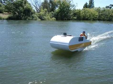 blow up boat name diy micro cer that doubles as a micro houseboat